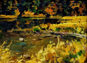 Autumn Pond, Quick Draw