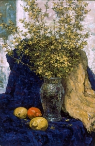 Forsythia and Lemons