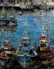 Harbor Boats, Portugal                             by Nikolo Balkanski